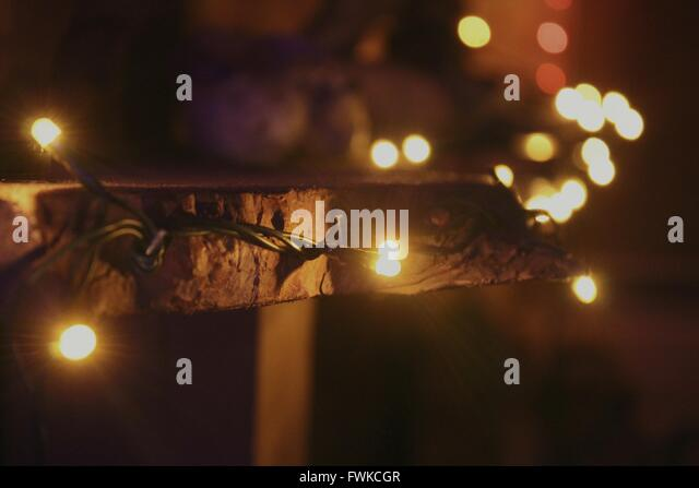 String Of Lights Night Stock Photos & String Of Lights Night Stock Images - Alamy