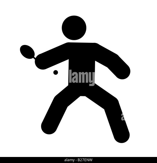 table tennis bat black and white stock photos amp images alamy