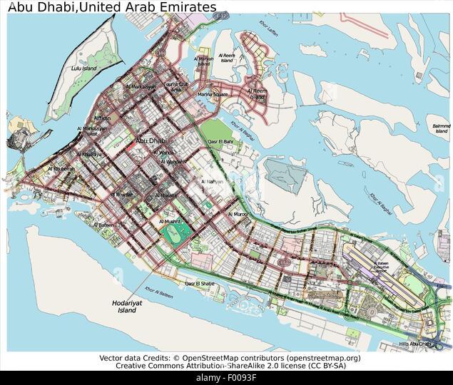 Maps Update 10001000 Abu Dhabi United Arab Emirates Map Where – Abu Dhabi Country Map