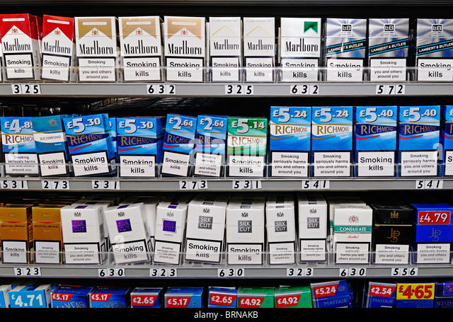 Tobacco companies list