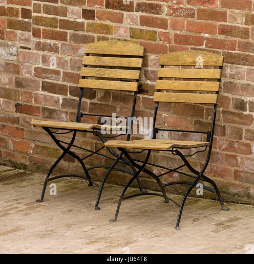 Wood Folding Chair Stock Photos Wood Folding Chair Stock Images