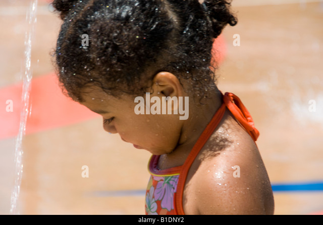 African American Year Old Girl Stock Photos  African American