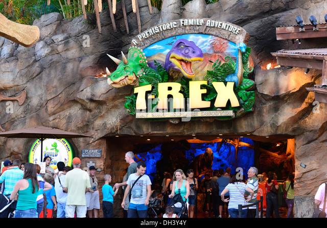 T Rex Restaurant Downtown Disney Address