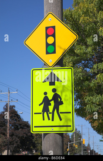 traffic sign school stock photos traffic sign school stock images