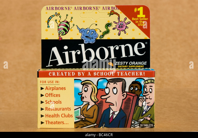 Airborne cold and flu