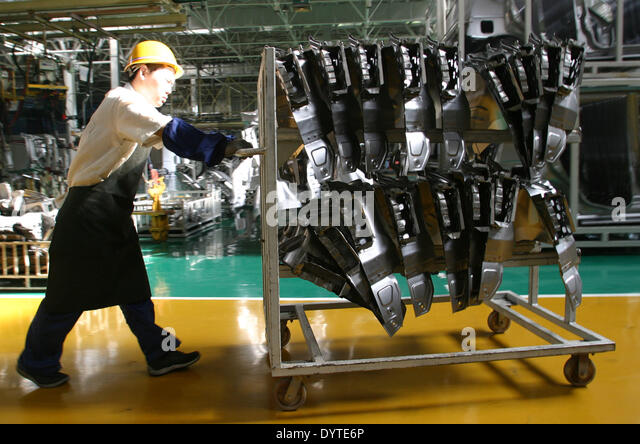 Transport Body Parts : Automobile parts manufacturing stock photos