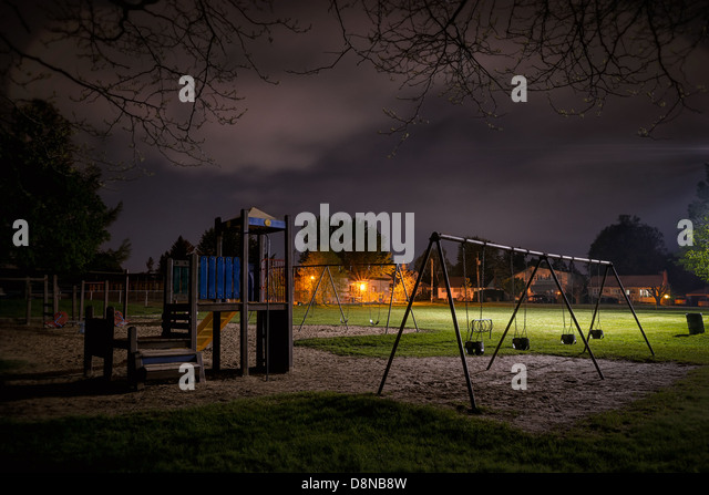 Empty Playground Night Stock Photos & Empty Playground ...