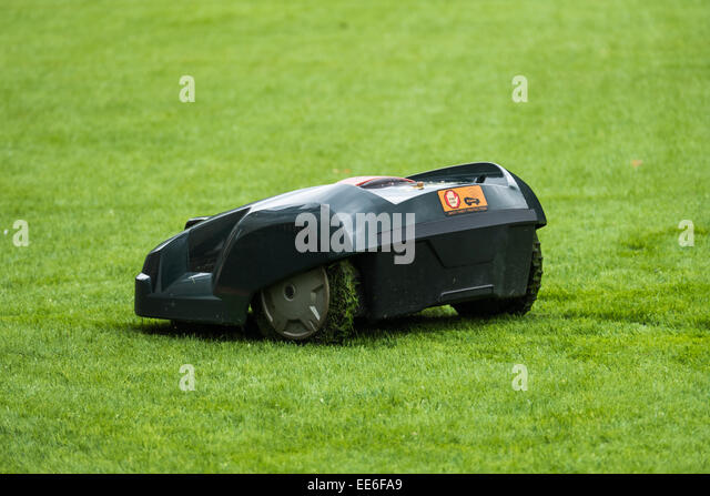 Robotic Lawn Mower Stock Photos Amp Robotic Lawn Mower Stock