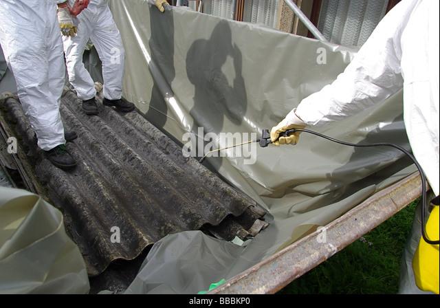 Corrugated Asbestos Roof Stock Photos Amp Corrugated