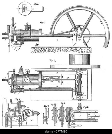 internal combustion engine illustration