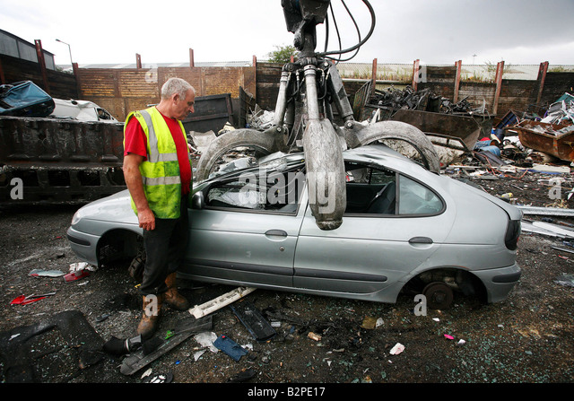 Scrap Car Uk Stock Photos Scrap Car Uk Stock Images Alamy