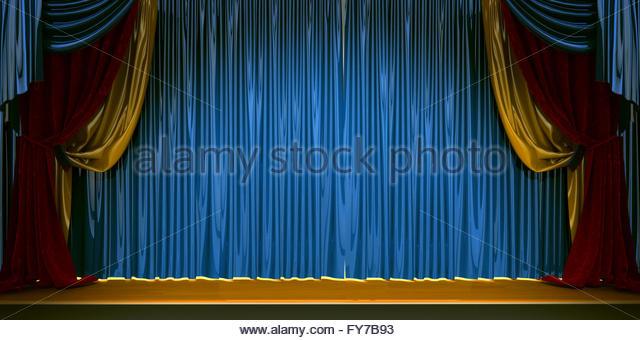 Curtains Ideas blue velvet curtains : Velvet Curtains Stock Photos & Velvet Curtains Stock Images - Alamy