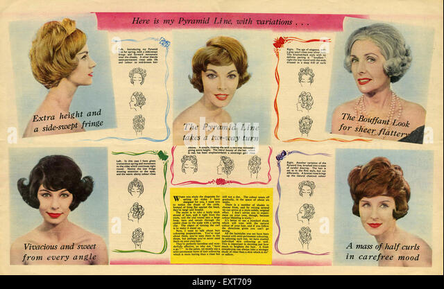 1950s Hairstyles Stock Photos & 1950s Hairstyles Stock Images - Alamy