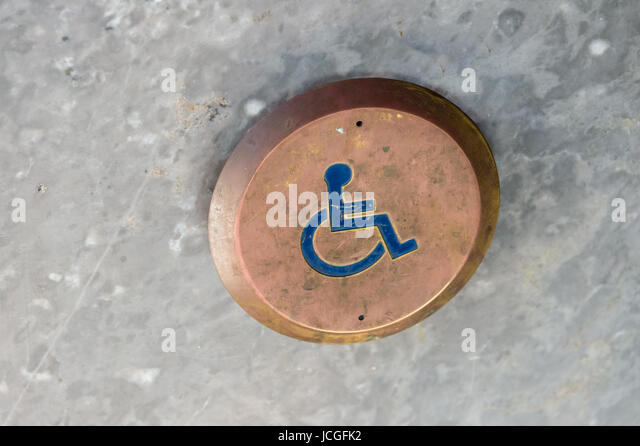Handicap Door Opener - Stock Image & Handicapped Door Opener Stock Photos u0026 Handicapped Door Opener Stock ...