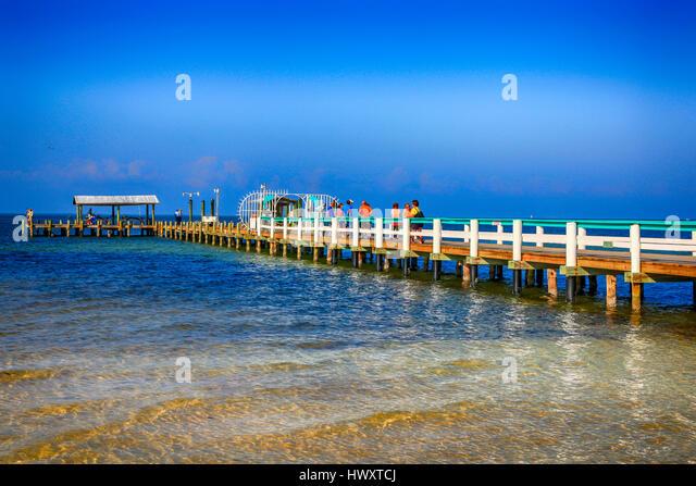 Pine island florida stock photos pine island florida for Bokeelia fishing pier