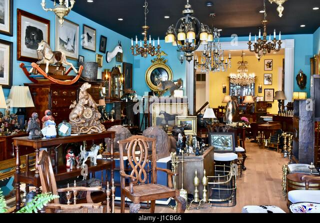 Traditional Furniture Store Interior   Stock Image