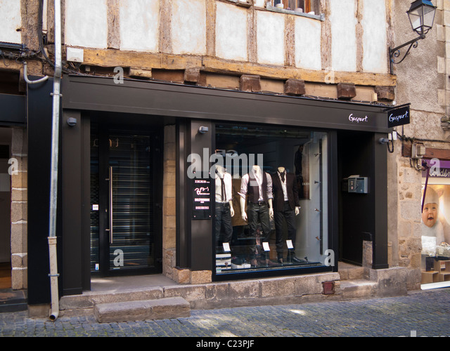 french clothing store stock photos french clothing store. Black Bedroom Furniture Sets. Home Design Ideas