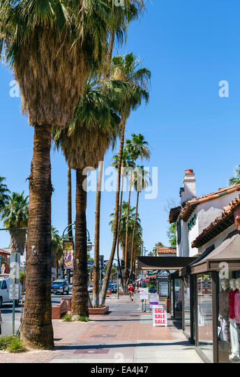 Palm springs stock photos palm springs stock images alamy for Shopping in palm springs ca