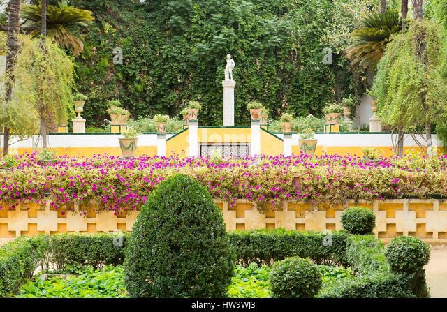 Garden spain topiary stock photos garden spain topiary - Garden center sevilla ...