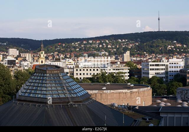 television tower stuttgart stock photos television tower stuttgart stock images alamy. Black Bedroom Furniture Sets. Home Design Ideas