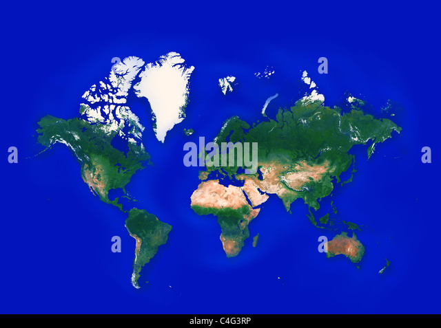 World Map Countries Stock Photos World Map Countries Stock - Earth map countries