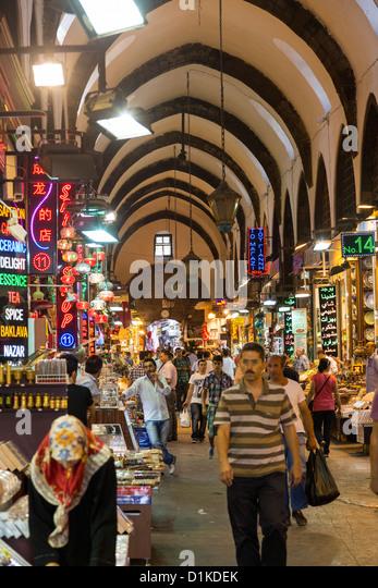 Misir Carsisi Spice Bazar Stock Photos & Misir Carsisi Spice Bazar Stock ...