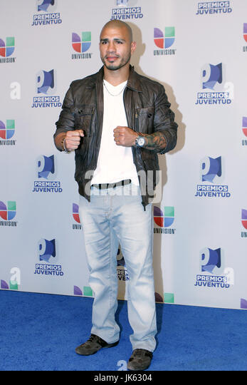 miami fl july 19 2012 miguel cotto backstage at the 2012 premios