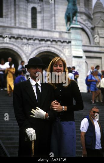Bowler Hat Paris Stock Photos & Bowler Hat Paris Stock ...