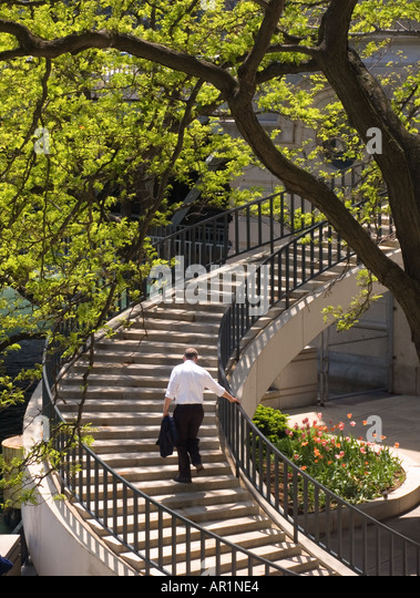 Search Results For Man Spiral Staircase Chicago Stock Photos And Images