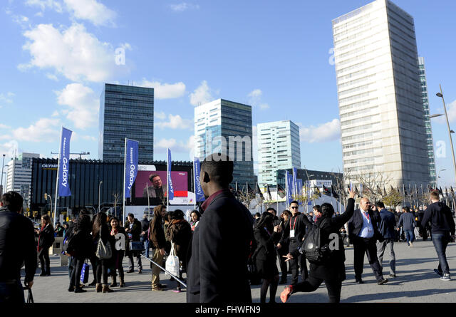 Barcelona Mobile World Congress 2016 Stock Photos ...