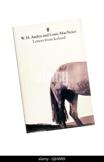 a copy of letters from iceland by wh auden and louis macneice first published in