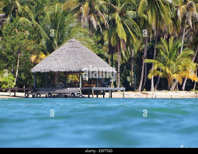 Tropical Beach Huts: Tropical Beach Hut Stock Photos & Tropical Beach Hut Stock