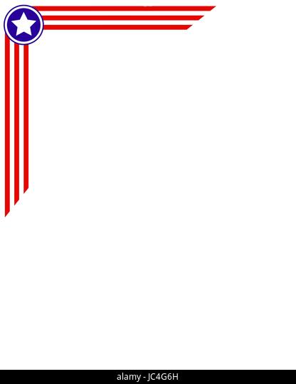 us flag patriotic border template stock photos us flag patriotic
