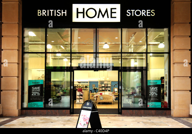 british home stores furnishing furniture household goods   Stock Image. British Home Stores Interior Stock Photos   British Home Stores