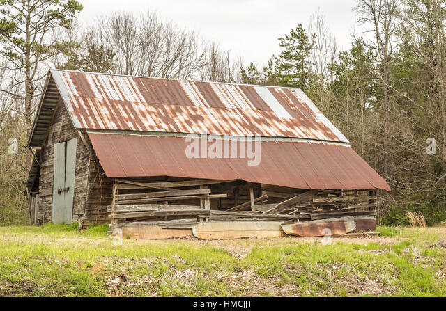 Rusted Tin Roof Stock Photos Rusted Tin Roof Stock
