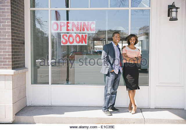 Store opening sign stock photos store opening sign stock for Opening a storefront business