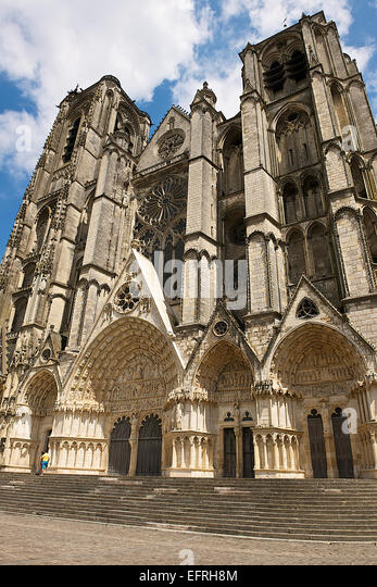 Bourges cathedral stock photos bourges cathedral stock images alamy - Stock industriel bourges ...