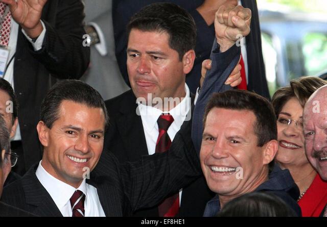 mexico city mexico 28th jan 2015 mexican president enrique pena nieto