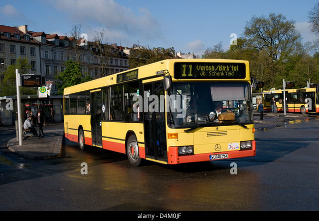 german bus stock photos german bus stock images alamy. Black Bedroom Furniture Sets. Home Design Ideas