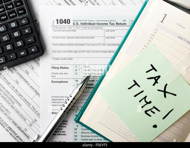 1040 income tax form stock photos 1040 income tax form for 1040 tax table calculator