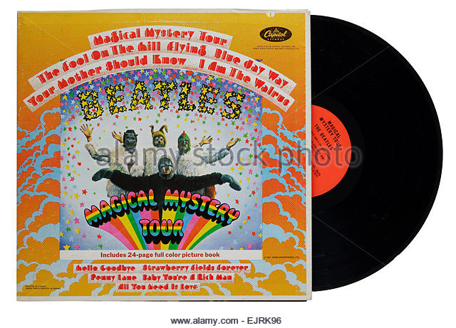 magical mystery tour beatles stock photos magical mystery tour beatles stock images alamy. Black Bedroom Furniture Sets. Home Design Ideas