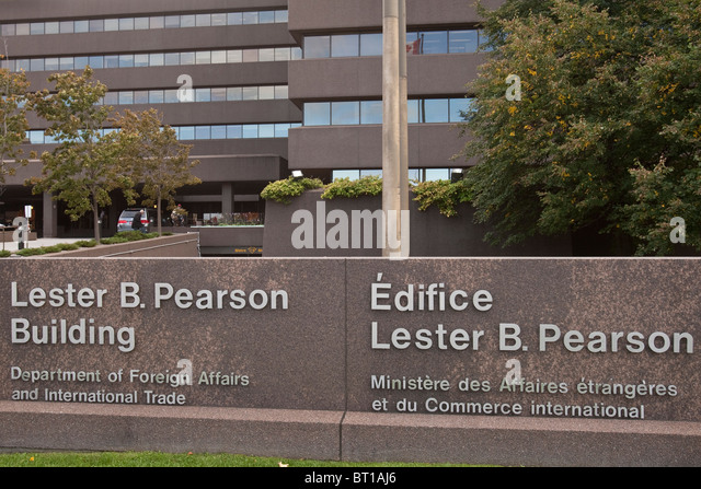 Lester b pearson building stock photos lester b - Department of foreign affairs offices ...
