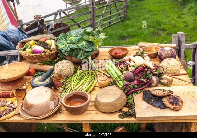 Middle Ages Food Stock Photos & Middle Ages Food Stock Images - Alamy
