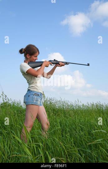 A Hunting Air Gun Stock Photos Amp A Hunting Air Gun Stock