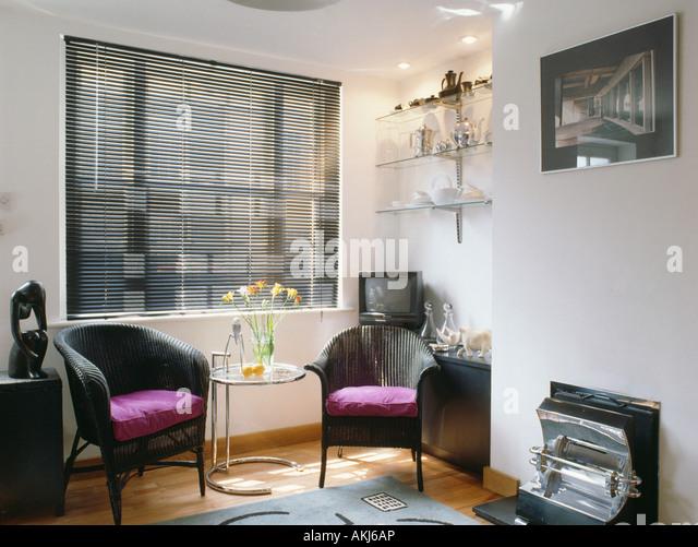 furniture sittingroom lounges fireplace stock photos. Black Bedroom Furniture Sets. Home Design Ideas
