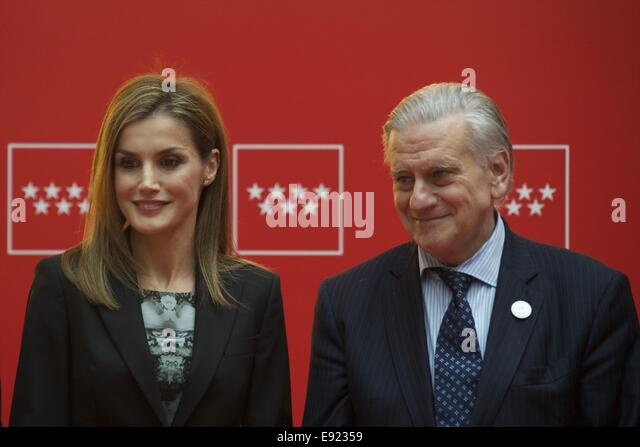 Queen Letizia Of Spain And Dr.