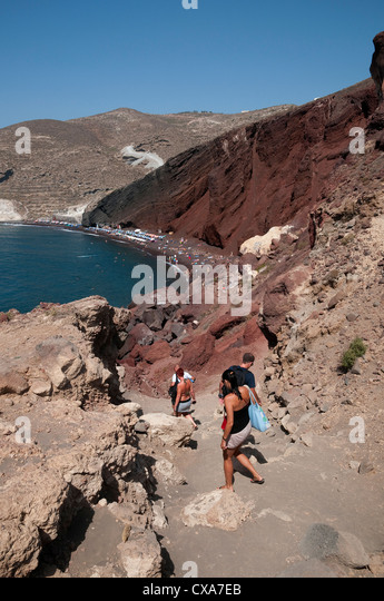Greece Beach Sunbathers Stock Photos & Greece Beach ...
