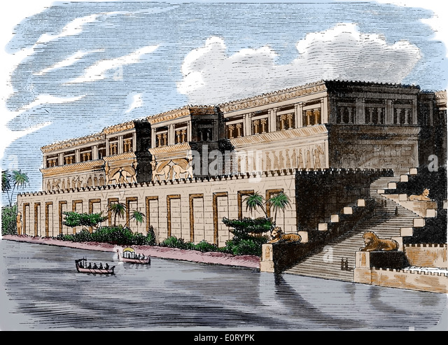 ancient egyptian and assyrian palace decorative David kertai the architecture of late assyrian royal palaces new york:  type  have focused largely on the role of their decoration in assyrian.