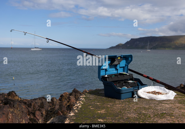 all box container fishing stock photos & all box container fishing, Fishing Rod