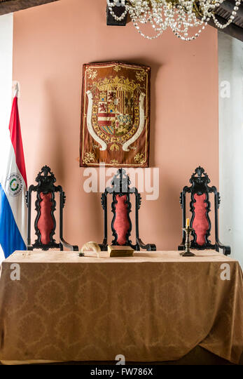 Museum old office interior stock photos museum old - Casa en paraguay ...